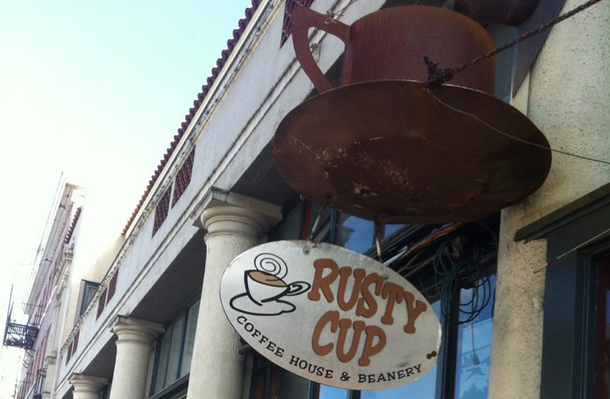 Rusty Cup your hole in the wall coffee shop that is great!