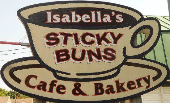 Isabella's Cafe, Freeport's celebrity cafe.