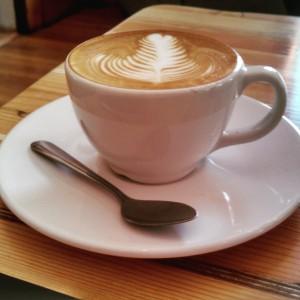 Latte art at Song Bird by CoffeeKen