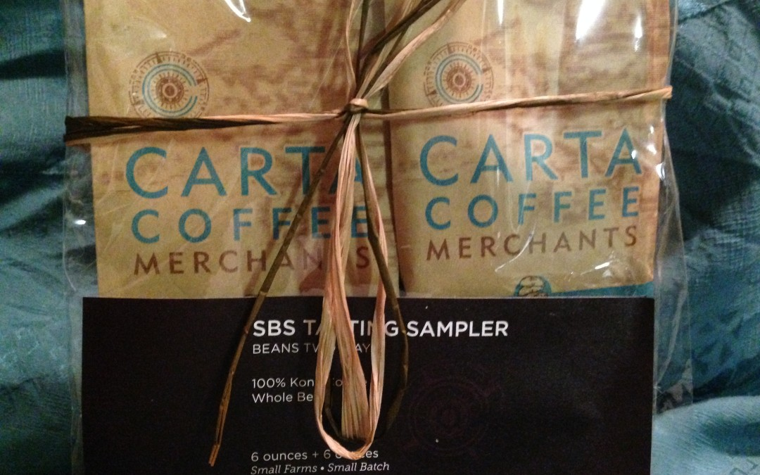 Captains Roast by Carta Coffee Merchants, just what the Captain ordered.