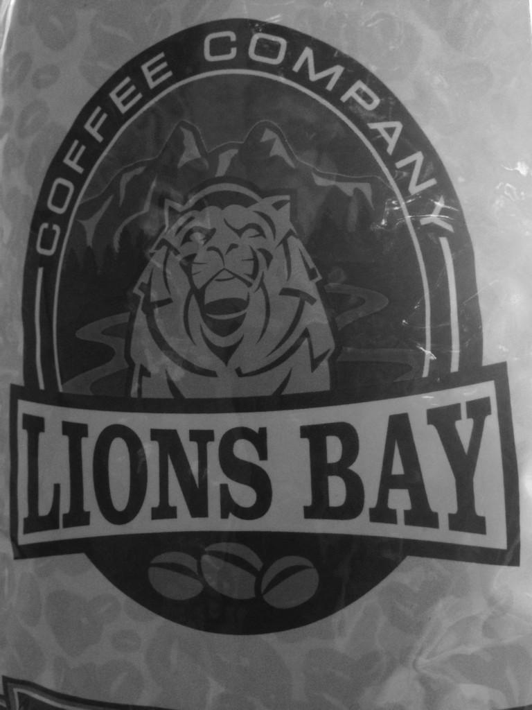 B/W of Lions Bay Coffee Company