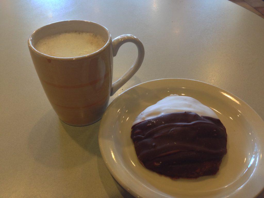 Pinebrook with dessert