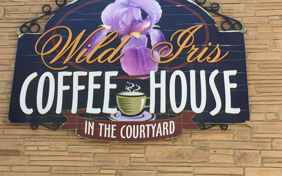 Wild Iris Coffee House, Prescott AZ star flower.