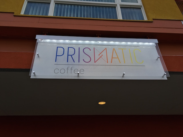 Prismatic a new colorful way to see coffee