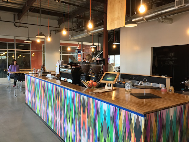 Prismatic's colorful bar