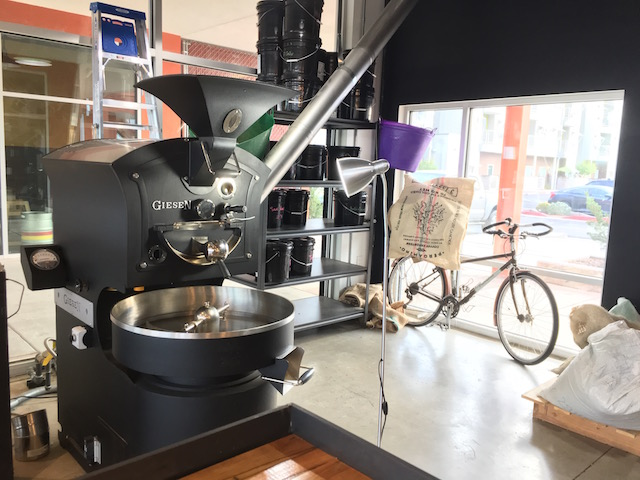 The fine roaster at Prismatic