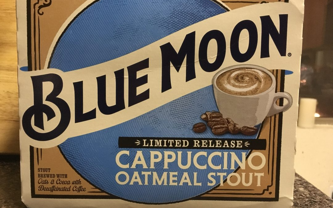 Blue Moon Cappuccino Oatmeal Stout,more than a Gimmick