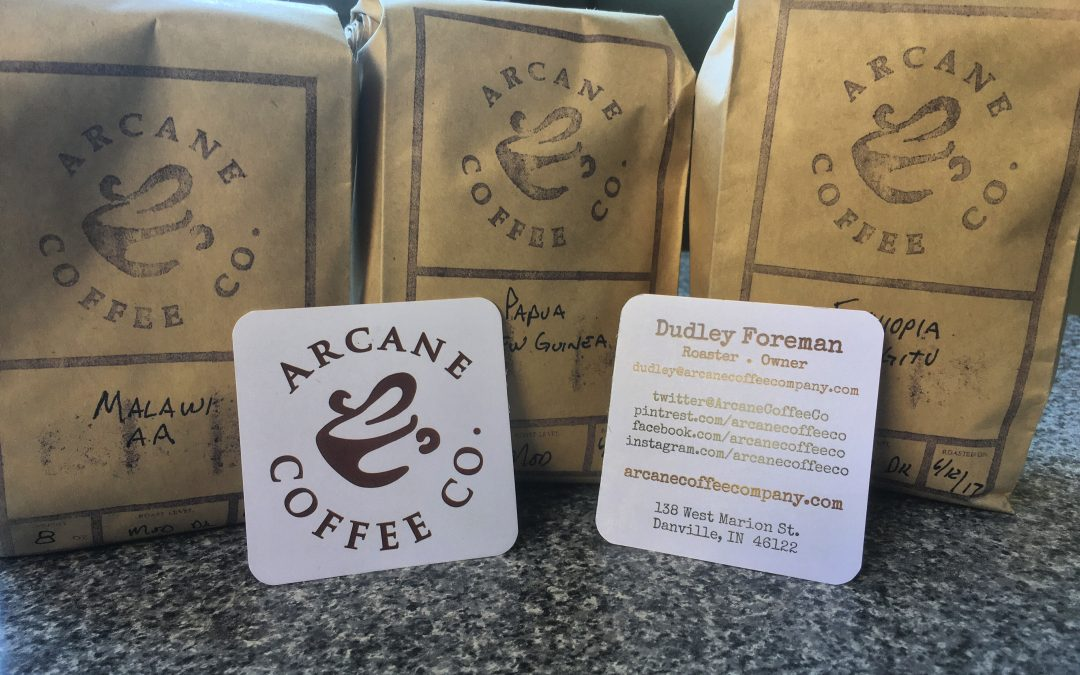 Arcane Coffee Company's Papua New Guinea: a quick trip in a cup.