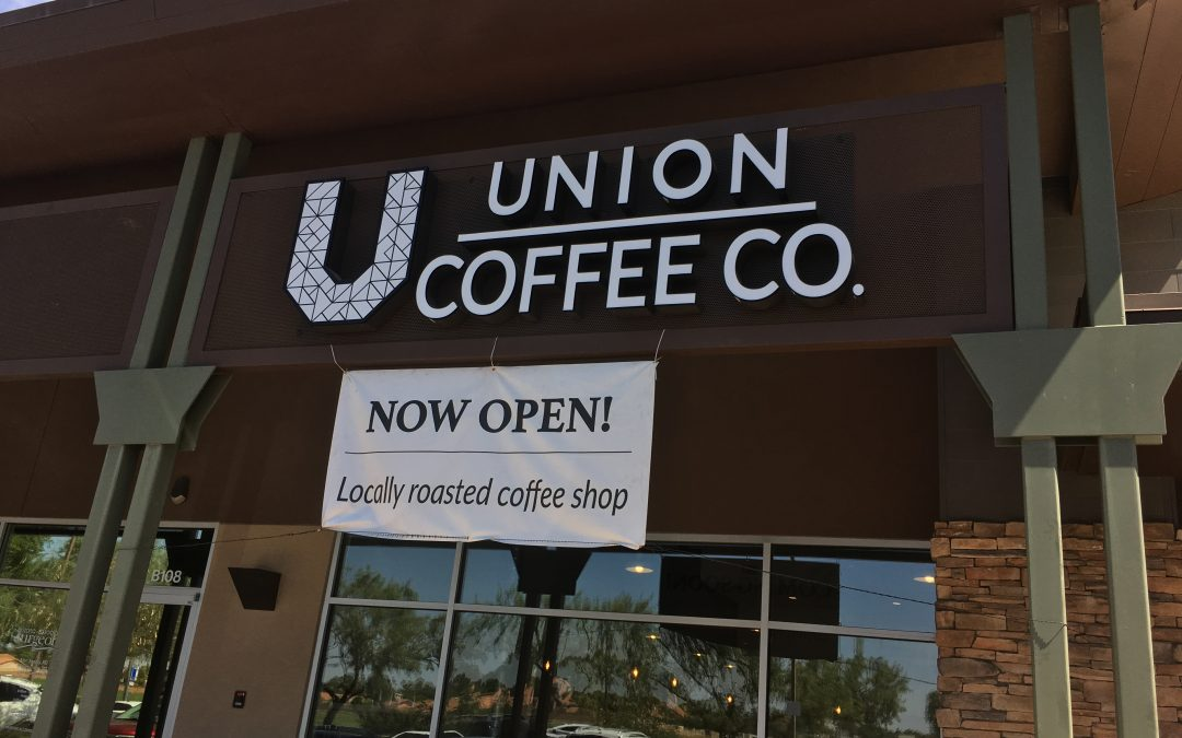 Union Coffee Company's El Salvador Sergio Catani, more than just a name.