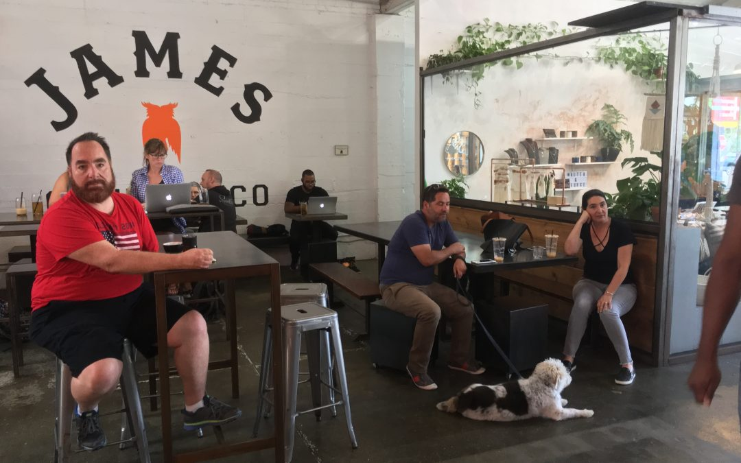 James Coffee Company; a coffee geeks market place!