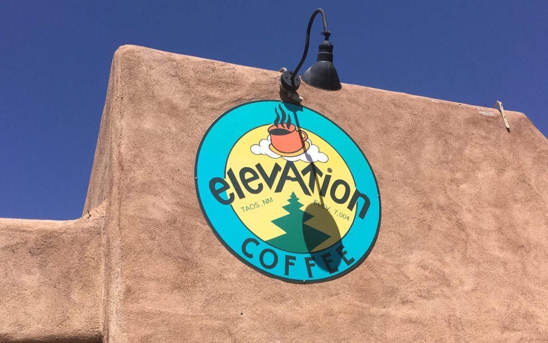Elevation Coffee: Clearly rises above the rest, in Taos.