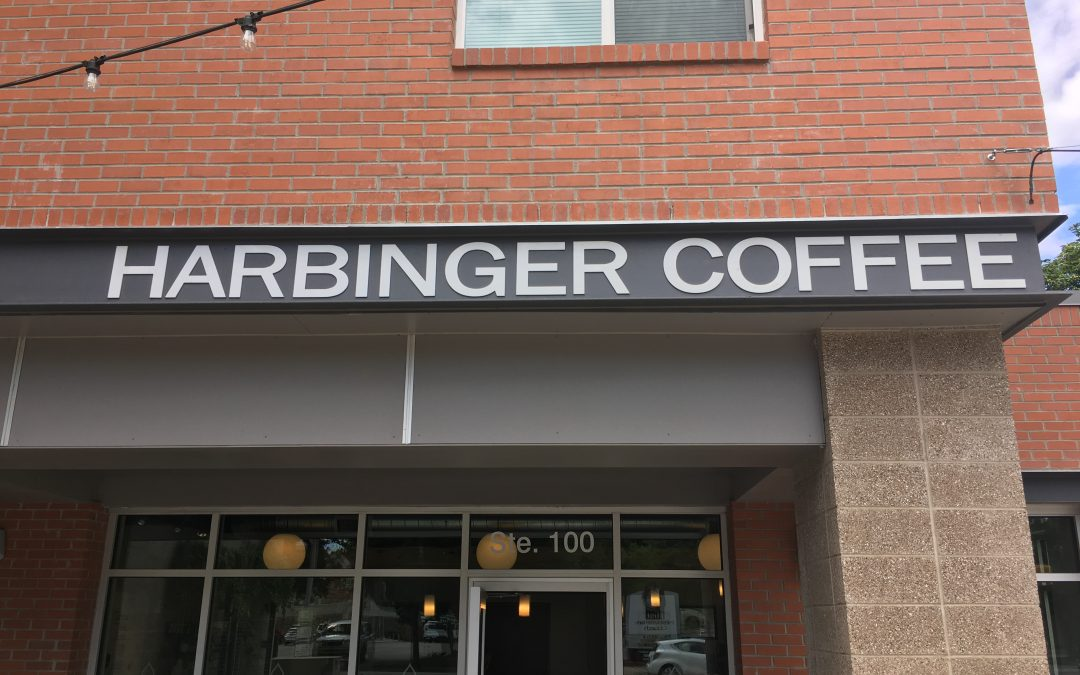 Harbinger, showing things to come for coffee.