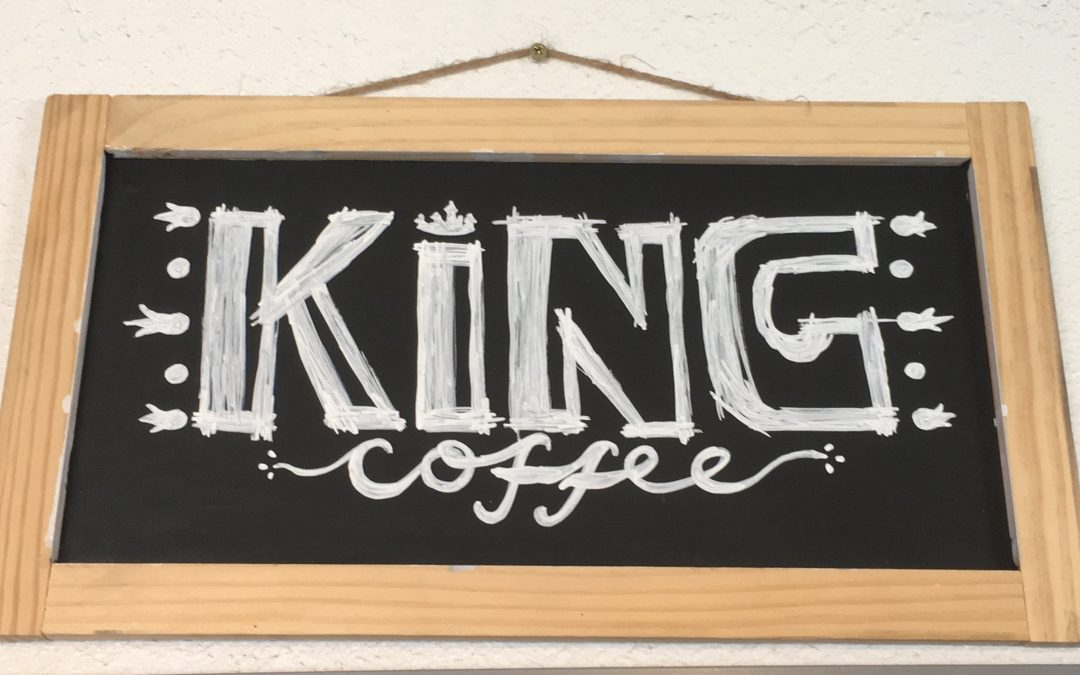King Coffee, worthy of the title.
