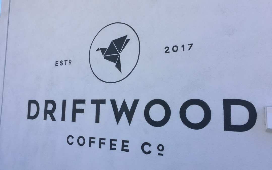Driftwood Coffee Company, Peoria AZ new kid on the scene.