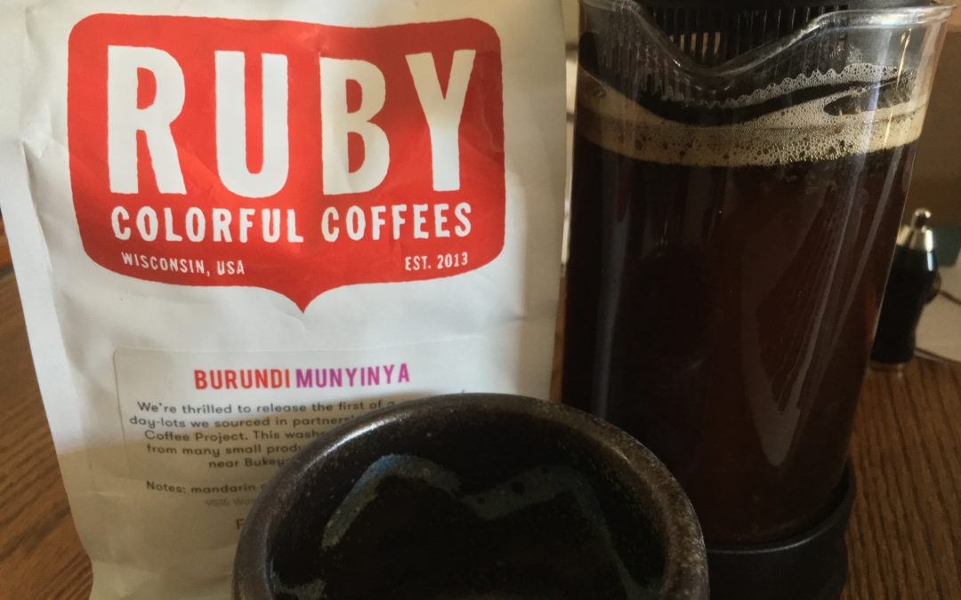 Ruby Colorful Coffee: A Colorful Way to Start Your Day.