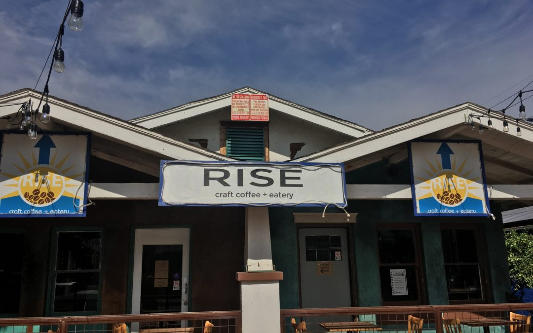 Rise Craft Coffee and Eatery  Ready to Help You Shine in the Morning.
