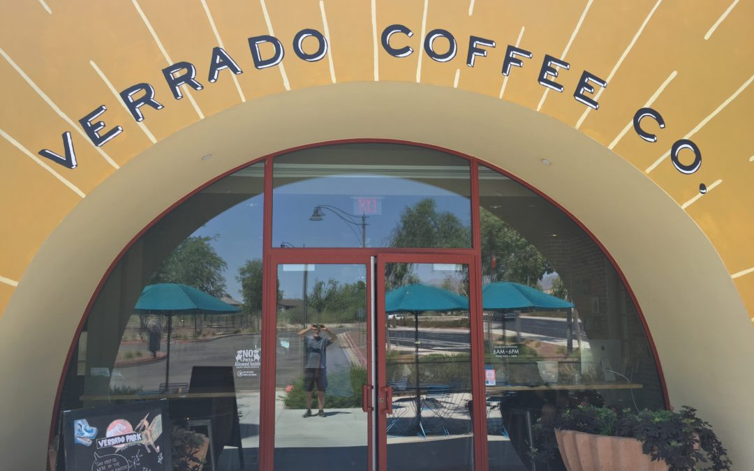 Verrado Coffee Company  Greeting You with a Cup of Coffee.