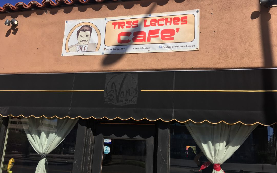 Tres Leches Café  Celebrating Something Really New!