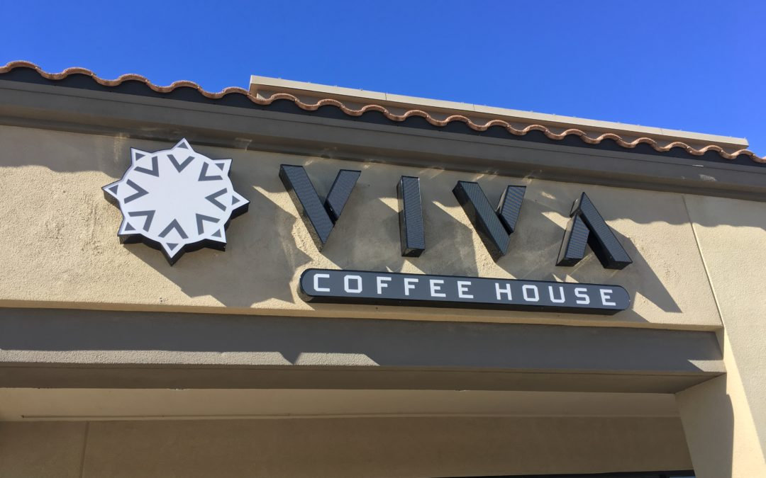 Viva Coffee House, in Southern Tucson, yes….I vigorously approve!