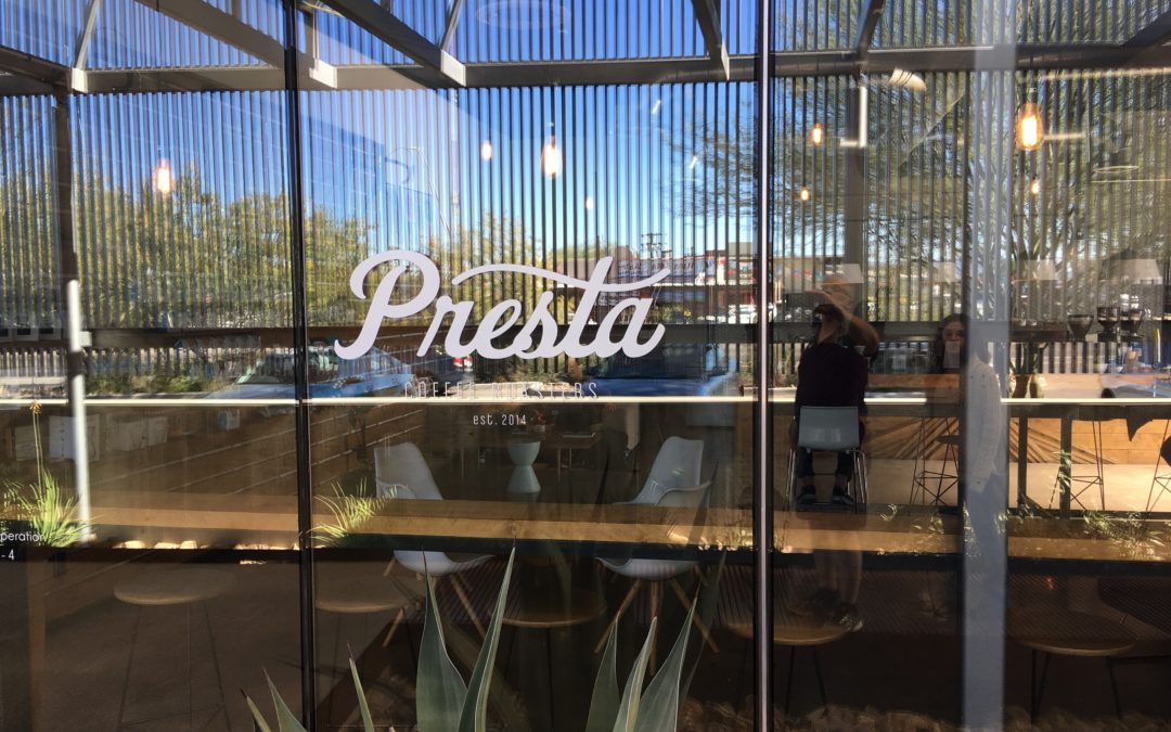 Presta Coffee, Tucson's other Third Wave