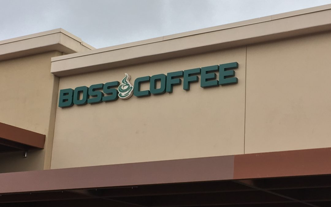 Boss Coffee showing North Scottsdale who the Boss is!
