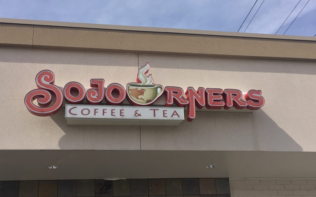SoJourners Coffee & Tea a perfect place for the weary traveler.
