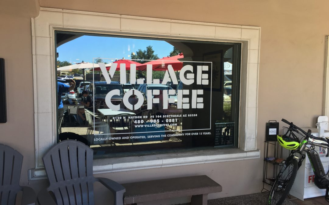 Village Coffee is where the heart is in Scottsdale.