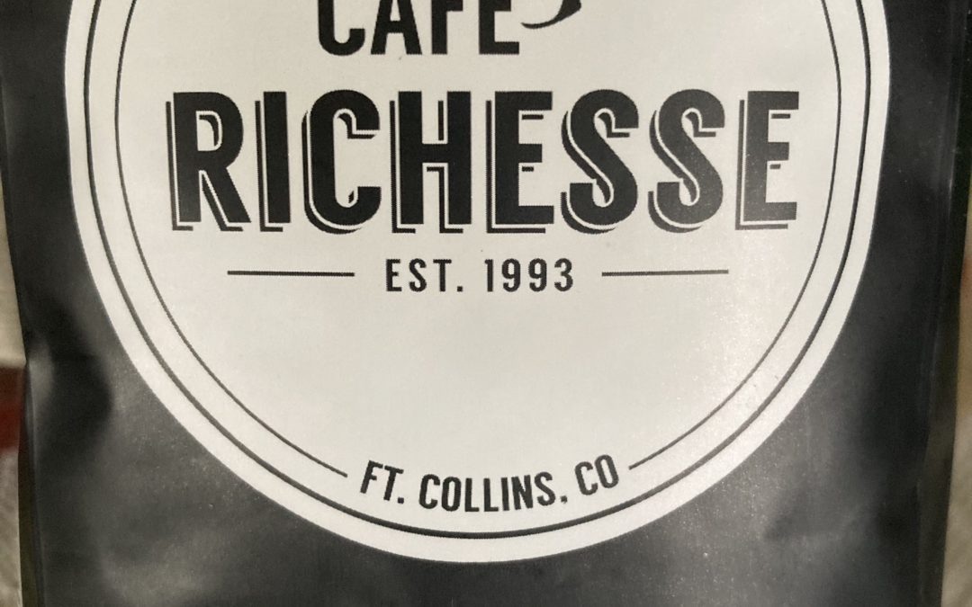 Café Richesse Sumatra worthy of more than one cup.
